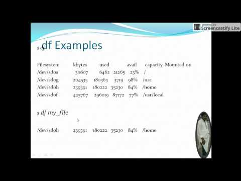 Unix File related commands Class 4