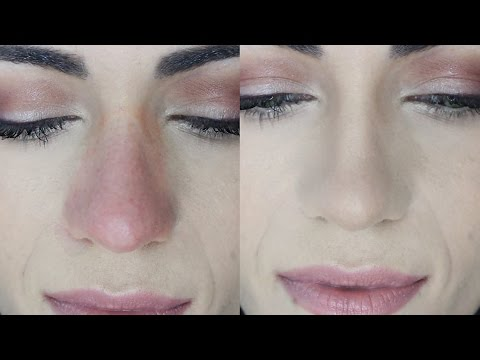 How To Cover Nose REDNESS (And MAKE IT LAST) | MakeupAndArtfreak