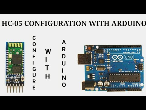 How To Change Name & Password Of A HC-05 Bluetooth Module With Arduino
