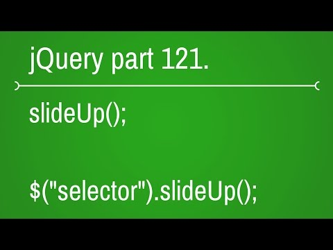 jquery slide up function - part 121