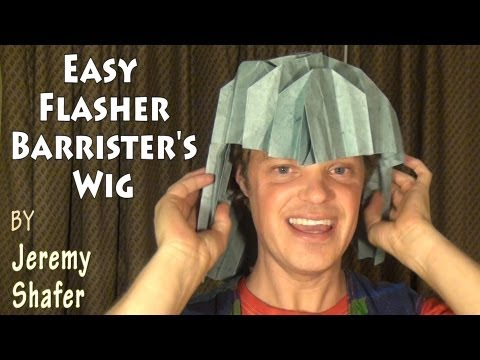 Easy Flasher Barrister's Wig