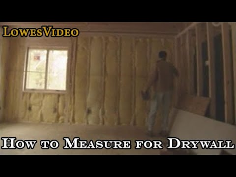 How to Measure for Drywall. Tips on Prep for Drywall