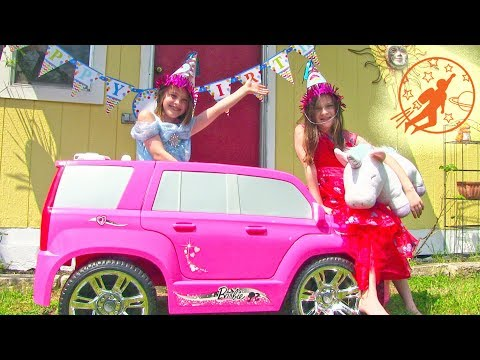 Little Princesses 21 - The Twins, The Pink Princess Car and The Birthday Surprise