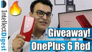 OnePlus 6 Red Edition Unboxing And Giveaway | Intellect Digest