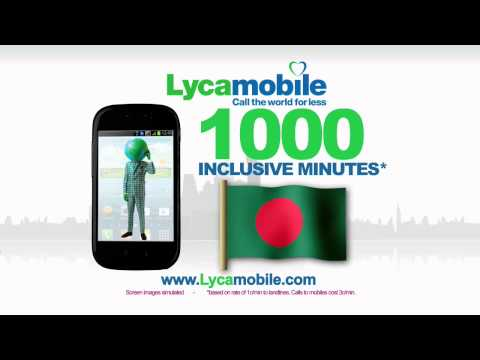 Lycamobile USA TV commercial 2013
