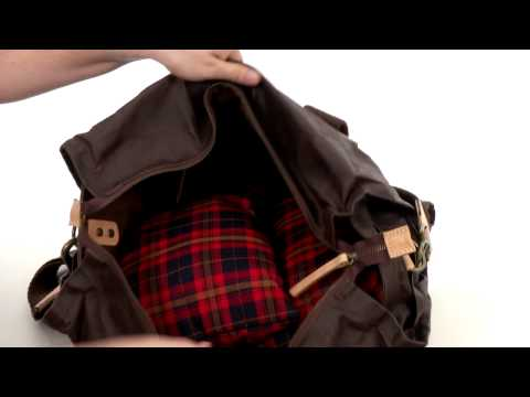 Will Leather Goods Wax Canvas Duffle  SKU:8317463