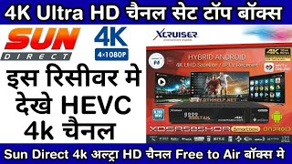 Xcruiser XDSR685HDR 4K Android UHD Satellite Receiver Unboxing,Price