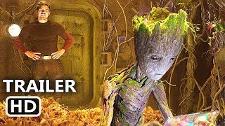 GUARDIANS OF THE GALAXY 2 Teen Groot Extended Scene (2017) Marvel Movie HD