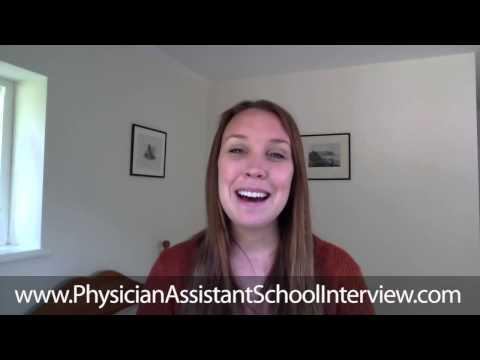 PA School Interview--Testimonial