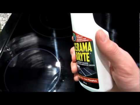 How to clean a ceramic stove top