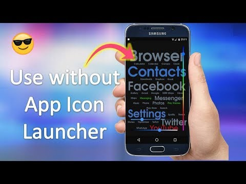 How to Use Without App Icon Launcher in Android in Hindi