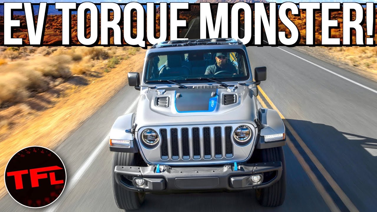 Breaking News Surprise: The 2021 Jeep Wrangler 4xe Plug-In Has A Lot More POWER Than The Bronco!