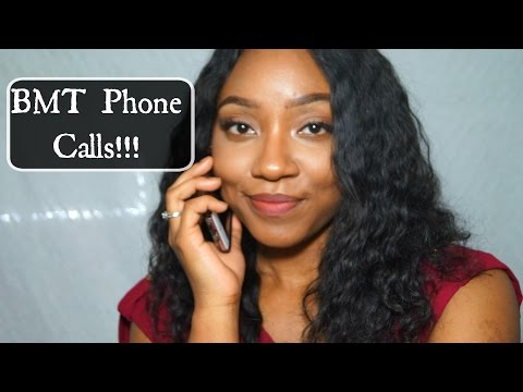 All About BMT Phone Calls