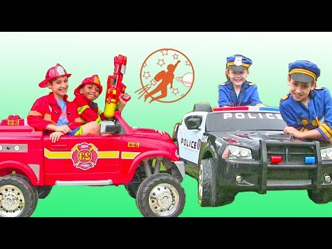 New Sky Kids Super Episode - Little Heroes Fire Engines, Police Cars, Heroes and More