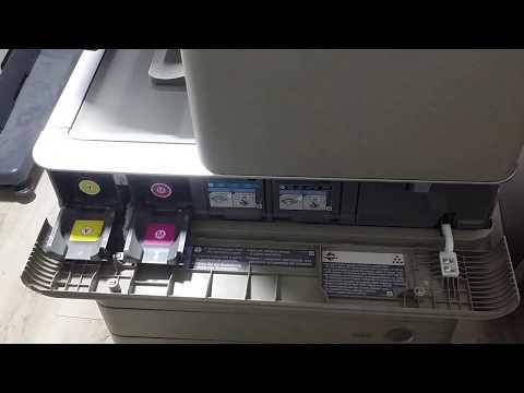 Replace toner on Canon IR Advance C5030 / C5035 / C5045 / C5051