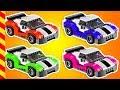 Download  Мультик про строительство машинок Lego. Завод по производству разноцветных машин из лего.  MP3,3GP,MP4