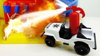 Ein spannender Tag mit den Helfer Autos - Spielzeugautos für Kinder