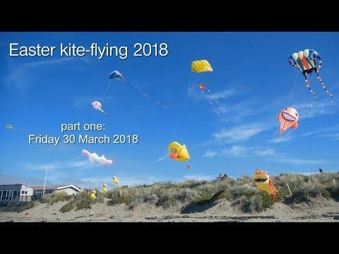 Easter kite flying 2018 - part one