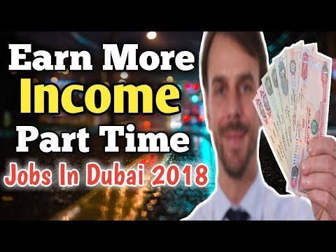 How to Work Part Time In UAE | Earn Extra Money | Work Permit for Part Time Jobs (Dubai)