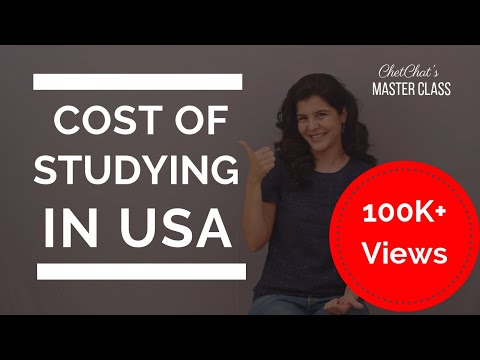 Study in USA: Cost of Studying in USA/America | How Much Does it Cost to Study Abroad in the USA