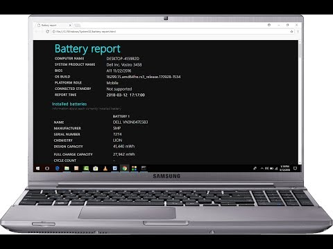 How to Check Laptop Battery Health & other Detail (Easy)