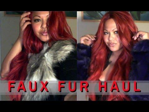 Edgy Accessories: Faux Fur Haul