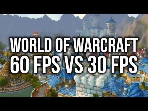 World of Warcraft: 60 FPS vs 30 FPS Comparison!