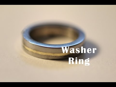 How To Make A Ring with Washers