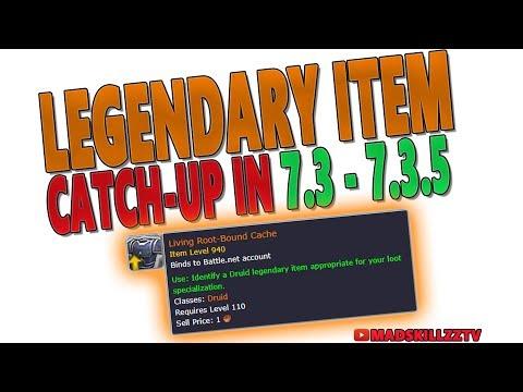 7.3 Legendary Item Catch-Up | New Token System (LEGENDARY RANT) | 7.3.2 - 7.3.5 PTR