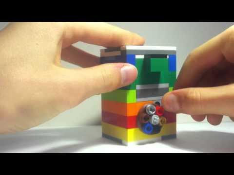 Mini LEGO combination safe