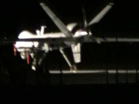 Predator Drone at southern Nevada base.