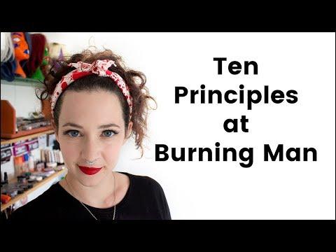 Ten Principles of Burning Man