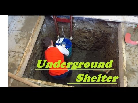 UNDERGROUND shelter, How to build an underground Bunker!!! #1