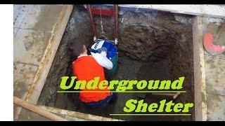 UNDERGROUND shelter, How to build an underground Bunker!!! #1