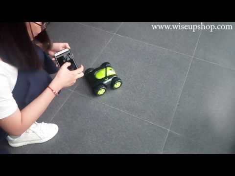 WISEUP 720P Wireless Toy Car Camera Complete Operation Instruction (Model Number: WIFI33)