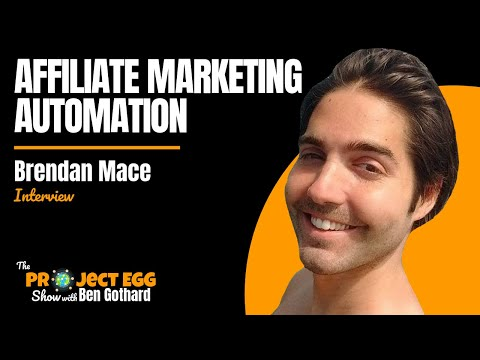 Brendan Mace: $15,000+ Per Month With Affiliate Marketing