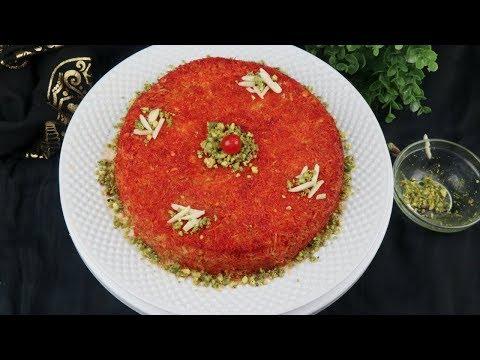 চুলায় তৈরি লাচ্ছা সেমাইর কুনাফা - এরাবিয়ান সুইট ডিশ | Kunafa Recipe | Arabian Kunafa | Konafah