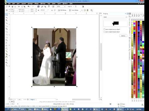 How to Change the Resolution of a Bitmap in CorelDRAW -