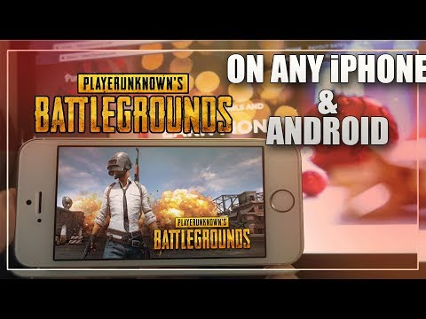 GET PlayerUnknown's Battlegrounds GAME ON YOUR iPhone /Android