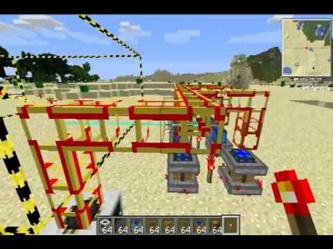 Minecraft Technic Pack - Tutorial Quarry