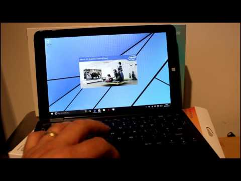 Linx 1010B Review. A great little budget two in one Windows tablet