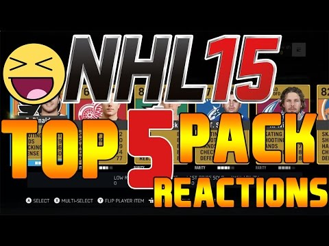 NHL 15 TOP 5 PACK REACTIONS #2