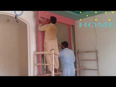 how to make drywall wall decor gypsum board wall installation    DIY GYPSUM & GYPSUM BOARD