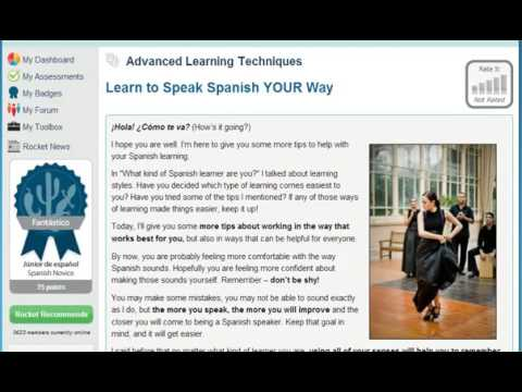 Learn Spanish Online   Learn to Speak and Understand Spanish