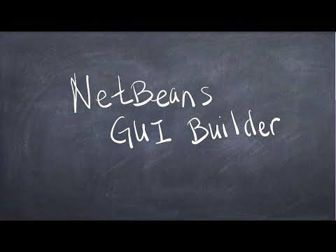 NetBeans GUI Builder -  Introduction