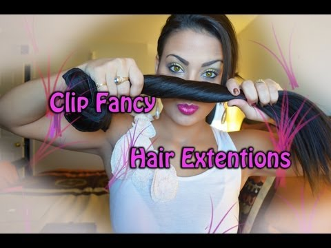 Clip Fancy Hair Extension Review