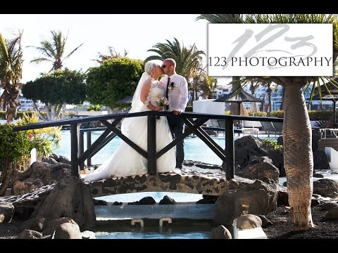 Lanzarote wedding photography, getting married Lanzarote, Melia Salinas Hotel, Costa Teguise