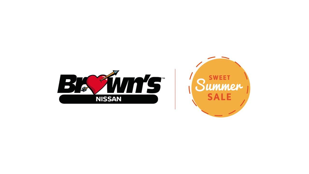 No Games at Brown's Fairfax Nissan - Sweet Summer Sale