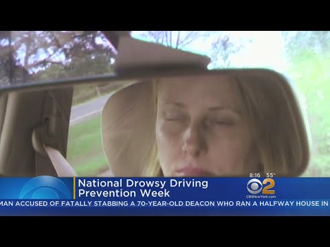 Many States Promoting National Drowsy Driving Prevention Week
