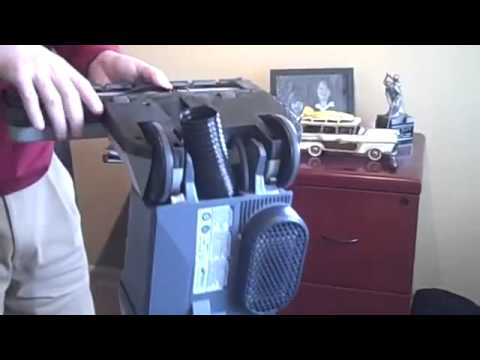 ProTeam Upright Vacuum Clog Removal